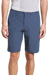 Travis Mathew Beck Stretch Performance Shorts Vintage Indigo