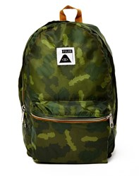 Poler Stuffable Pack Bag Green Camo