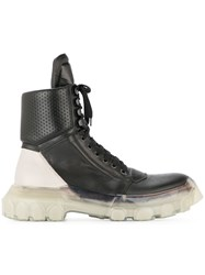 Rick Owens Tractor Dunk Boots Black