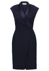 Closet Shift Dress Navy Dark Blue