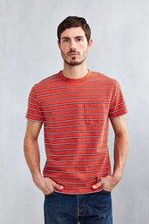 Cpo Almont Pocket Crew Tee Red