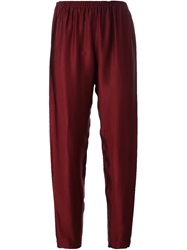 Forte Forte Cropped Trousers Red