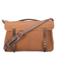 Bleu De Chauffe Camel Justin Leather Bag