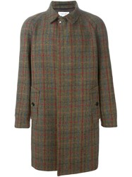Soulland 'B0g' Tweed Coat Brown