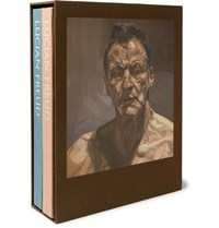 Phaidon Lucien Freud Hardcover Book Set Green