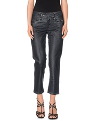 Galliano Denim Capris Lead
