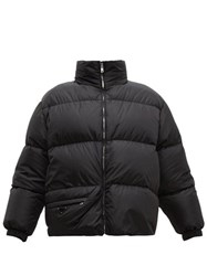 Prada Down And Feather Filled Technical Jacket Black