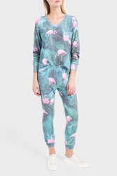 Wildfox Couture Women S Printed Jersey Jogging Trousers Boutique1 Multi