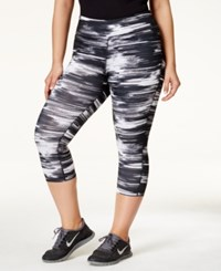Ideology Plus Size Printed Cropped Leggings Only At Macy's Break Limits