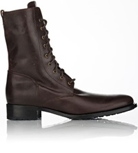 Buttero Tall Side Zip Boots Brown