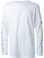 Stampd Rolled Sleeve Strap T Shirt White