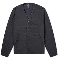 Save Khaki Quilted Liner Jacket Black