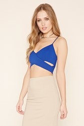 Forever 21 Crisscross Cutout Cropped Cami