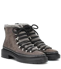 Rag And Bone Compass Suede Ankle Boots Grey