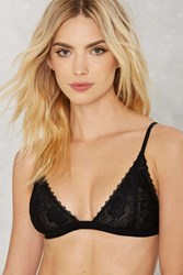 Nasty Gal Lacy Stardust Lace Bra