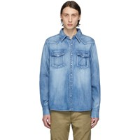 Visvim Indigo Denim Social Sculpture Shirt