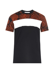 Givenchy Cuban Fit Paisley Print Cotton T Shirt