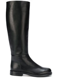 Loriblu Calf Leather Boots Black