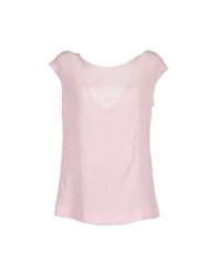 Dinou Sleeveless T Shirts Pink