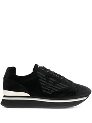 Emporio Armani Logo Lace Up Sneakers 60