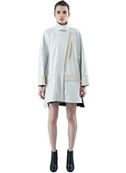 Paco Rabanne Nylon Coat Black