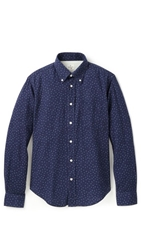 Hartford Micro Anchor Shirt