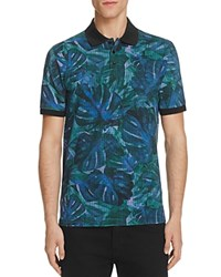 Hugo Dunnyvale Floral Slim Fit Polo Shirt 100 Bloomingdales Exclusive
