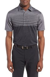 Under Armour Men's Coolswitch Polo Rhino Grey Black
