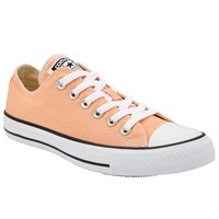 Converse Chuck Taylor All Star Canvas Ox Low Top Trainers Sunset Glow