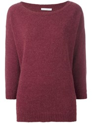 Societe Anonyme Oversized Jumper Pink Purple