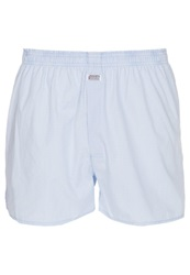 Jockey Boxer Shorts Shirting Blue
