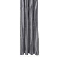 Ferm Living Chambray Shower Curtain Striped Black White