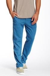 Alternative Apparel Lightweight French Terry Straight Pant Blue