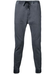 Monkey Time Gathered Ankle Trousers Grey