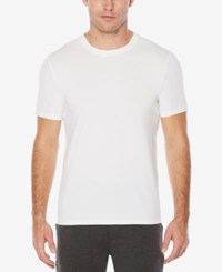 Perry Ellis Men's Classic Fit T Shirt Bright White