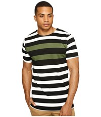 Publish Vance Striped Knit Olive Men's Clothing