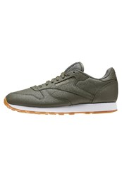Reebok Classic Classic Leather Pg Trainers Hunter Green White Gum