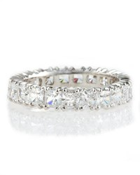Fantasia Cubic Zirconia Eternity Band Ring