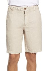 Men's Tailor Vintage Linen Walking Shorts Pumice