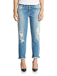 Genetic Denim Alexa Distressed Cropped Skinny Jeans