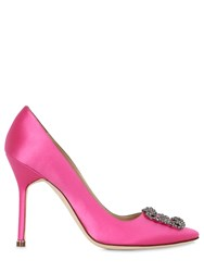 Manolo Blahnik 105Mm Hangisi New Satin Pumps