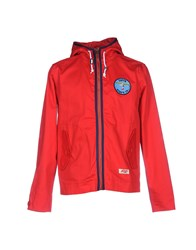 Tsptr Jackets Red