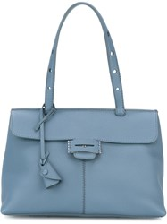 Myriam Schaefer Mini 'Lord' Tote Blue