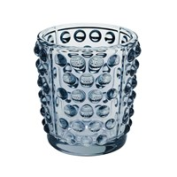 Lalique Mossi Votive Blue Lustre