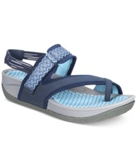 Bare Traps Danique Rebound Technology Outdoor Sandals Women's Shoes Navy