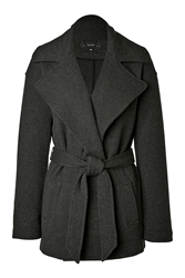 Ralph Lauren Black Label Cashmere Wool Wrap Jacket