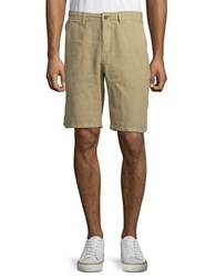 Lucky Brand Twill Flat Front Shorts