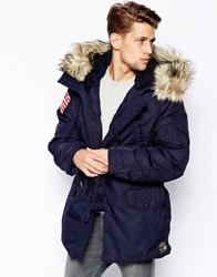 Denim And Supply Ralph Lauren Parka With Down Fill Clny