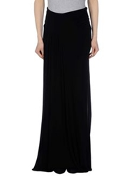 Alberta Ferretti Long Skirts Black