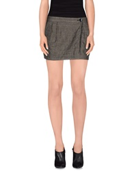 Nolita Mini Skirts Grey